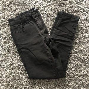 Forever 21 Women's Black Denim Skinny Jeans Sz 25